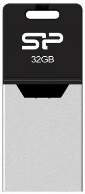 Флешка USB 32Gb Silicon Power Mobile Х20 SP032GBUF2X20V1K серебристый