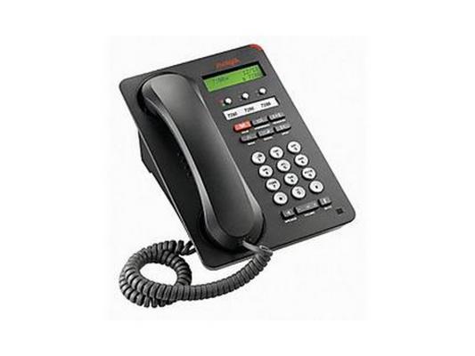 Телефон IP Avaya 1603SWi черный 700458524/700508258 цифровое ip атс cisco7965g