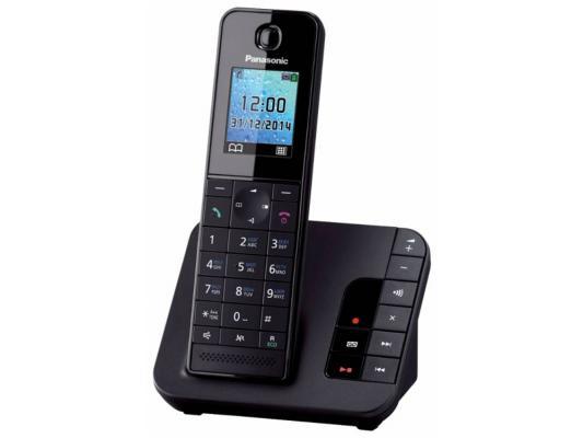 Радиотелефон DECT Panasonic KX-TGH220RUB черный радиотелефон dect panasonic kx tg6812rub черный