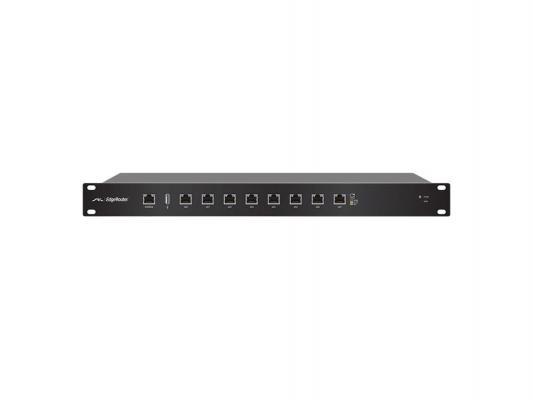 Маршрутизатор Ubiquiti EdgeRouter 8x10/100/1000Mbps ER-8(EU) ubiquiti edgerouter x sfp er x sfp eu