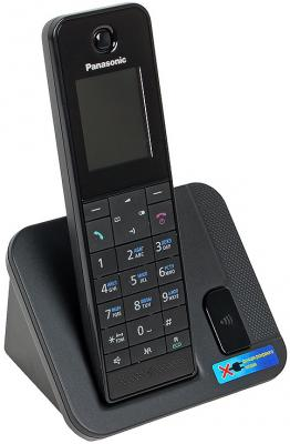 Радиотелефон DECT Panasonic KX-TGH210RUB черный радиотелефон dect panasonic kx tg6722rub черный