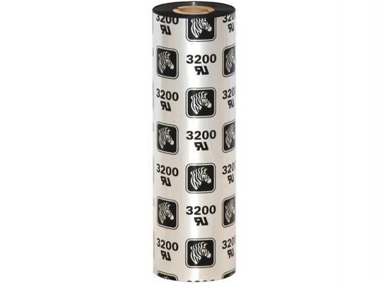 Красящая лента Zebra 3200 110мм 74м черный 03200GS11007