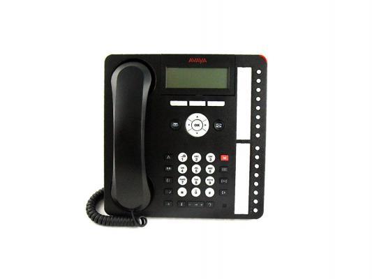 Телефон IP Avaya 1416 черный 700469869 цифровое ip атс cisco7965g