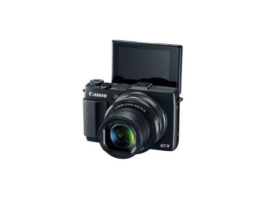 Цифровая фотокамера Canon G1 X Mark II 12.1Mp 5x Zoom черный 9167B002