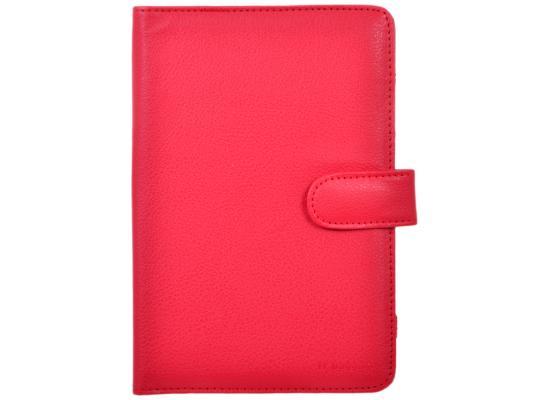 Чехол IT BAGGAGE Универсальный для планшета 7 искусственная кожа красный ITUNI702-3 чехол it baggage универсальный для планшета 7 искусственная кожа черный ituni73 1