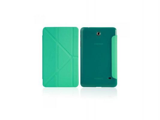 """Чехол IT BAGGAGE для планшета Samsung Galaxy tab4 7"""" Hard case искусственная кожа бирюзовый ITSSGT4701-6"""