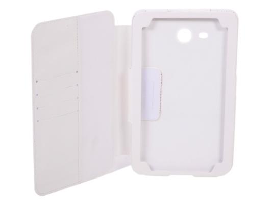 Чехол IT BAGGAGE для планшета Samsung Galaxy tab3 Lite 7.0 SM-T110/111 искусственная кожа белый ITSSGT73L03-0