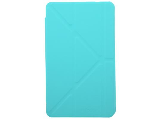 Чехол IT BAGGAGE для планшета SAMSUNG Galaxy Tab4 8 Hard case искусственная кожа бирюзовый с тонированной задней стенкой ITSSGT4801-6 it baggage чехол для samsung galaxy tab e 8 black