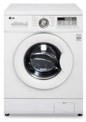 Стиральная машина LG F10B8QD белый стиральная машина узкая lg f12u1hbs4