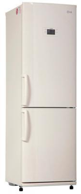 Холодильник LG GA-B409 UEQA бежевый холодильник lg ga b489zecl бежевый