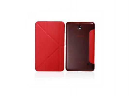 """Чехол IT BAGGAGE для планшета Samsung Galaxy Tab4 7"""" Hard case искусственная кожа красный ITSSGT4701-3"""