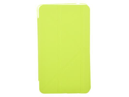 "Чехол IT BAGGAGE для планшета Samsung Galaxy Tab4 7"" hard case искусственная кожа лайм ITSSGT4701-5"