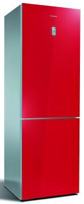 Холодильник Bosch KGN36S55RU красный
