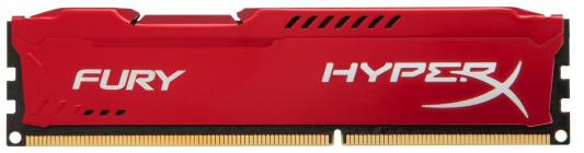 Оперативная память 8Gb PC3-10600 1333MHz DDR3 DIMM CL9 Kingston HX313C9FR/8 HyperX FURY Red Series