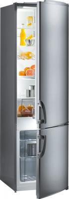 Холодильник Gorenje RK 41200 E серебристый gorenje rk 61 w2