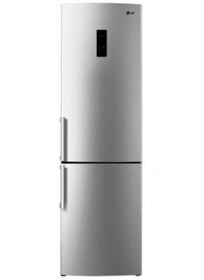 Холодильник LG GA-B489YMQZ серебристый led панели lg 32se3b b