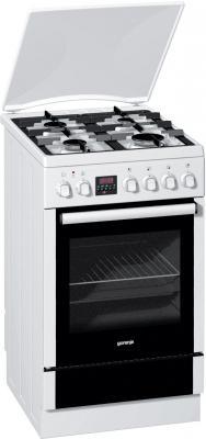 Комбинированная плита Gorenje K55320AW белый