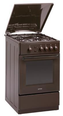 Газовая плита Gorenje GN51103ABR1 коричневый