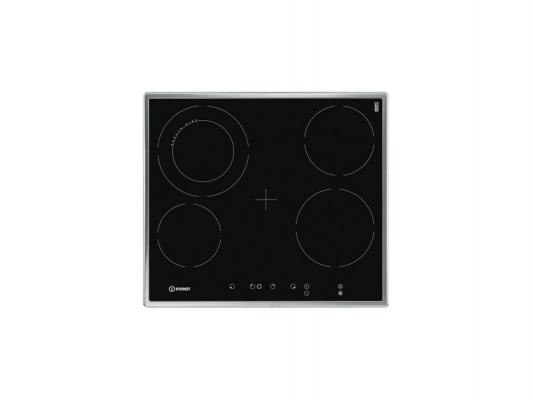 Варочная панель электрическая Indesit VRA 641 D X S черный