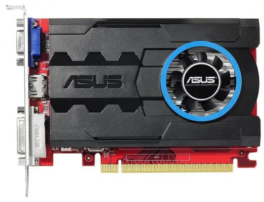 Видеокарта 1024Mb ASUS R7 240 PCI-E 64bit GDDR3 DVI HDMI DP CRT R7240-1GD3 Retail r7240 1gd3