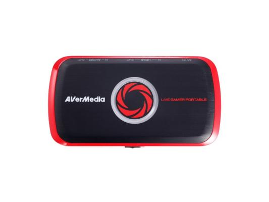 Карта видеонаблюдения внешний Avermedia Live Gamer Portable USB S-Video RCA PDU HDMI uc18 portable mini led projector support 1080p video portable projector with hdmi tf card usb cvbs led home cinema projector
