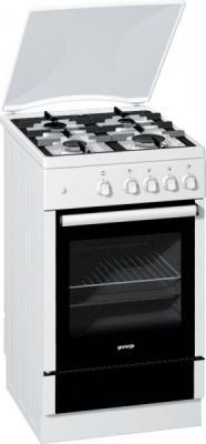 Газовая плита Gorenje G51103AW белый