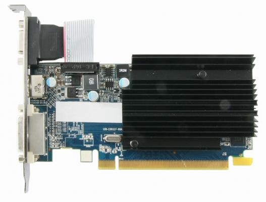 Видеокарта 1024Mb Sapphire R5 230 PCI-E  GDDR3 64bit DVI HDMI HDCP CRT 11233-01-20G Retail