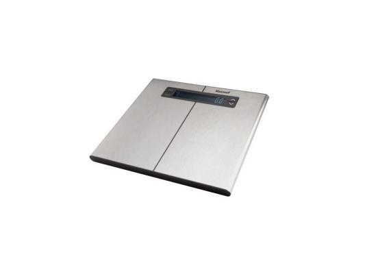 Весы напольные Maxwell MW-2664(ST) серебристый