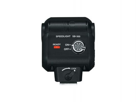 Вспышка Nikon Speedlight SB-300 черный FSA04101