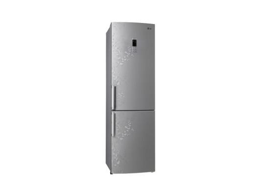 Холодильник LG GA-B489ZVSP серебристый игрушка для кошек каскад мышь на пружине цвет серый длина 9 см
