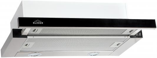 Вытяжка встраиваемая Elikor Интегра GLASS 45Н-400-В2Г серебристый