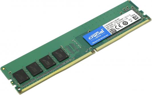 Оперативная память 4Gb PC4-17000 2133MHz DDR4 DIMM Crucial CT4G4DFS8213 288-pin non-ECC