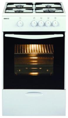 Газовая плита Beko CSG 52000 W белый
