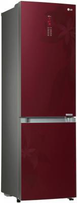 Холодильник LG GA-B489TGRF красный пылесос lg vc53202nhtr