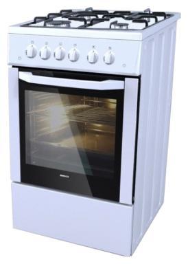 Газовая плита Beko CSG 52111 GW белый