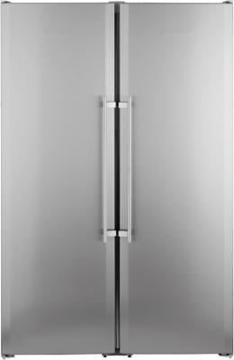 Холодильник Liebherr SBSesf 7212 серебристый холодильник liebherr cuag 3311