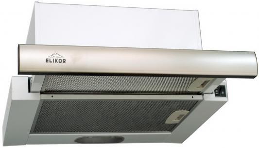 Вытяжка встраиваемая Elikor Интегра GLASS 60Н-400-В2Г белый
