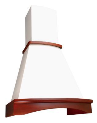 Вытяжка каминная Elikor Ротонда 60П-650-П3Л бук бежевый/светло-коричневый