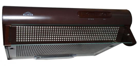 лучшая цена Вытяжка подвесная Elikor Davoline 60П-290-П3Л коричневый