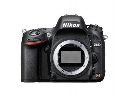 лучшая цена Зеркальная фотокамера Nikon D610 Body 24.3Mp черный VBA430AE