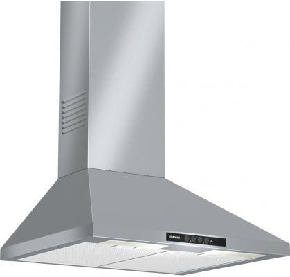 цены на Вытяжка каминная Bosch DWW06W650 серебристый в интернет-магазинах