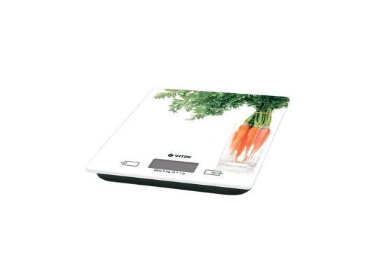 Весы кухонные Vitek VT-2418-01 белый весы кухонные vitek vt 2418 01 белый