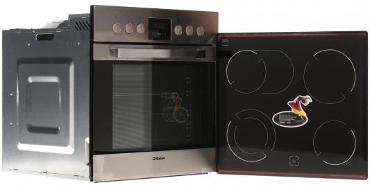 Комплект встраиваемой техники Hansa BCCI 66136030 серебристый