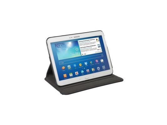 "Чехол Targus Versavu Slim для Samsung Galaxy Tab 4 10.1"" полиуретан черный THZ453EU от 123.ru"