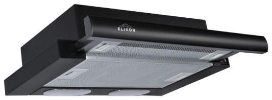 Вытяжка встраиваемая Elikor Интегра 50П-400-В2Л черный