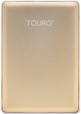 """Внешний жесткий диск 2.5"""" USB3.0 1 Tb Hitachi Touro S HTOSEA10001BGB 0S03754 золотистый"""