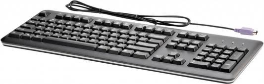 Клавиатура HP QY774AA PS/2 черный