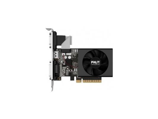 Видеокарта 1024Mb Palit GeForce GT730 PCI-E DDR3 64 bit DVI HDMI Retail