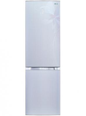 Холодильник LG GA-B489TGDF серебристый