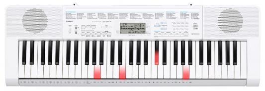 Синтезатор Casio LK-247 61 клавиша USB AUX белый
